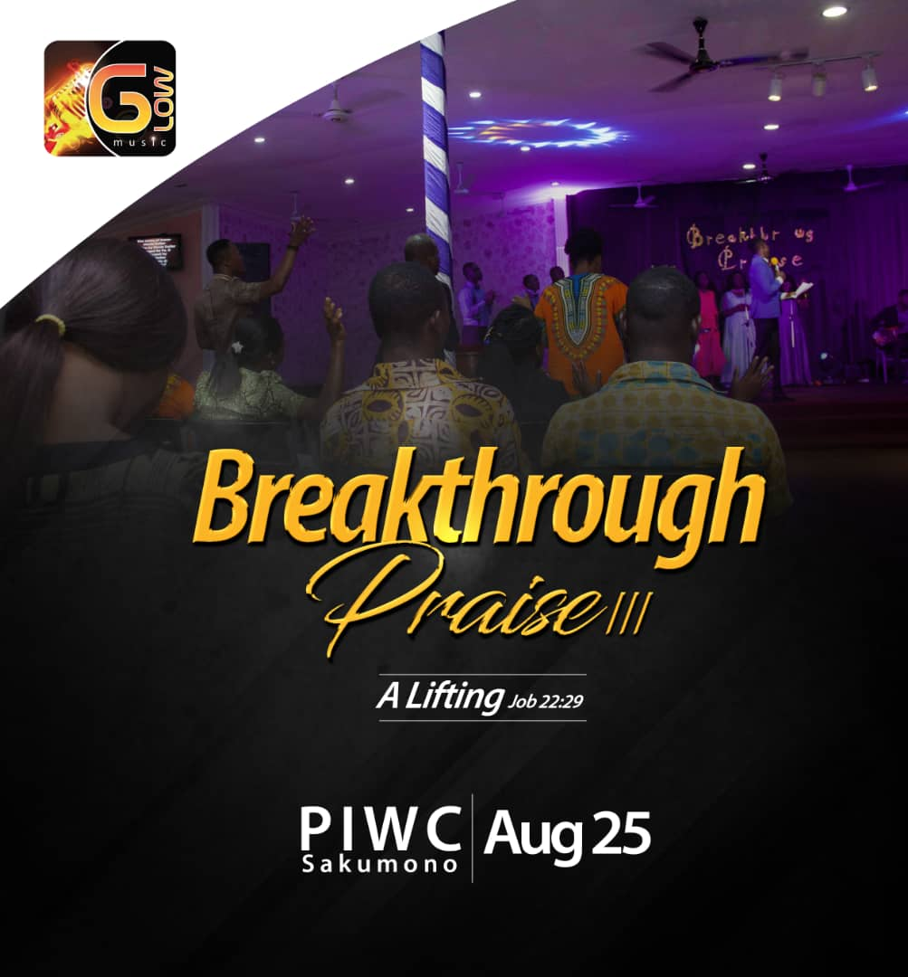 BP3 Breakthrough Praise 3 August 25 PIWC Glow Music Ministry