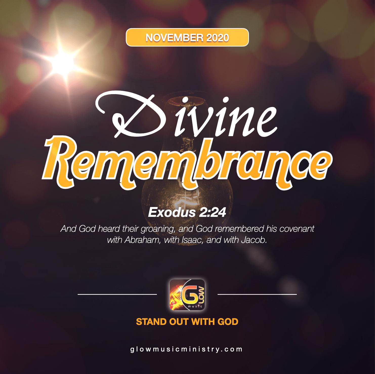 November 2020 - Divine Remembrance